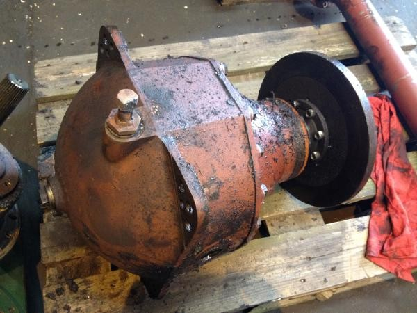 FMG OSA 250 Differential - front bogie axle