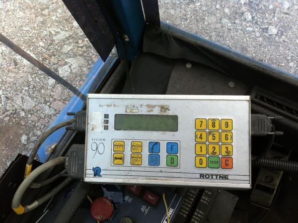 Rottne System 90 measuring