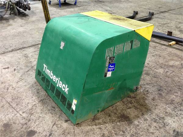 Timberjack 1270D hood
