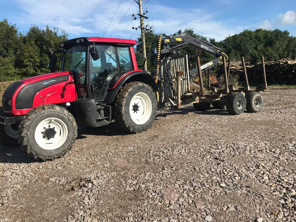 Botex 11t Euro Trailer & 560 Loader