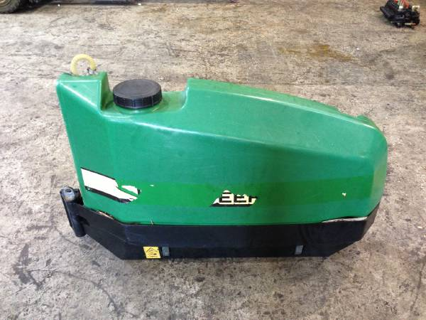 John Deere Urea Stump spray system