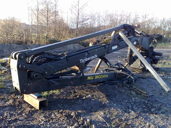 Loglift Timberjack TJ 200 H 8.3