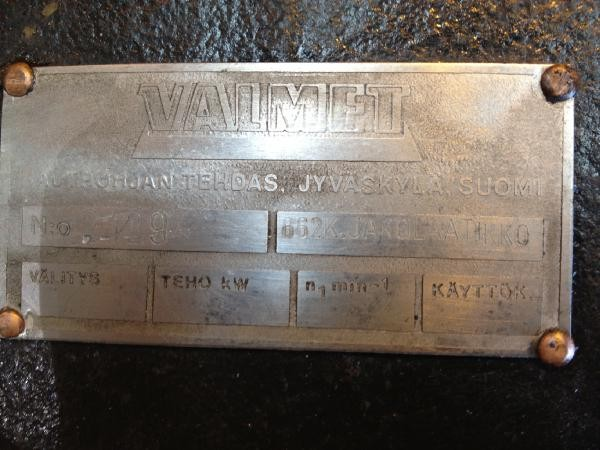 Valmet 862 Transfer gearbox