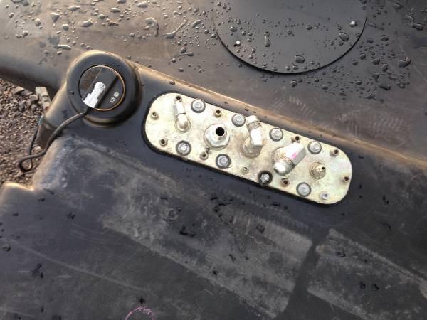 John Deere 1470D Fuel tank