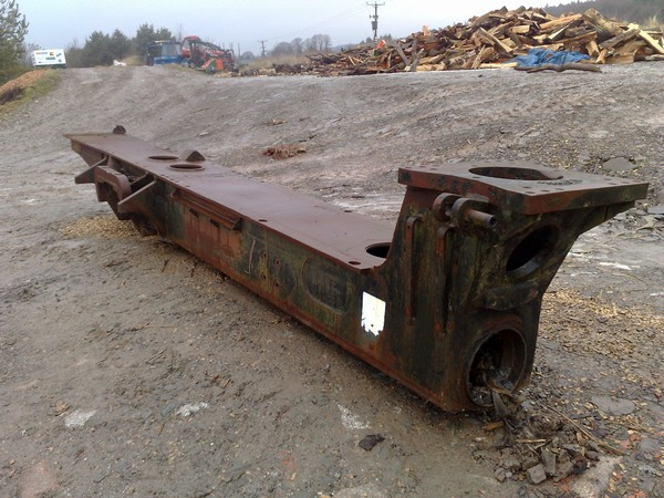 Valmet 860 wagon frame
