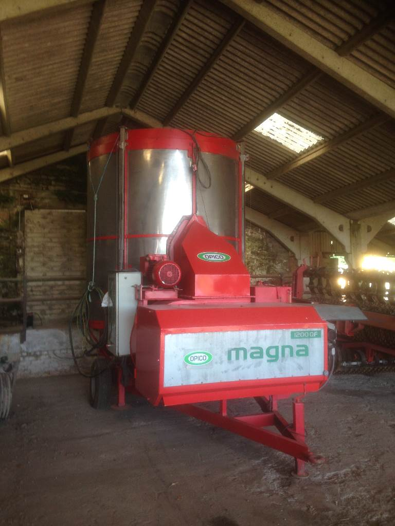 Opico 3 phase Electric Grain dryer Magna 1200QF