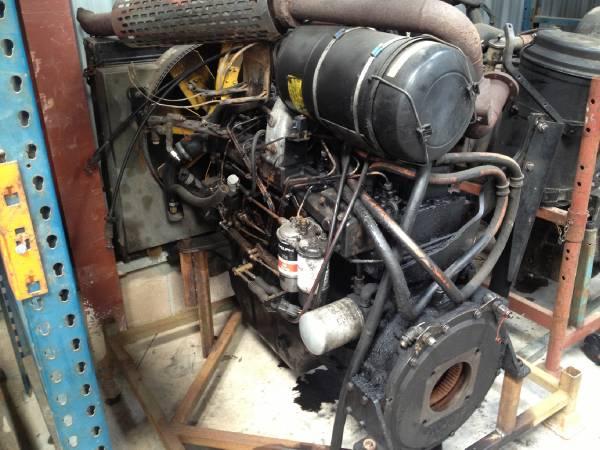 Valmet / Sisu 890 / 620 engine