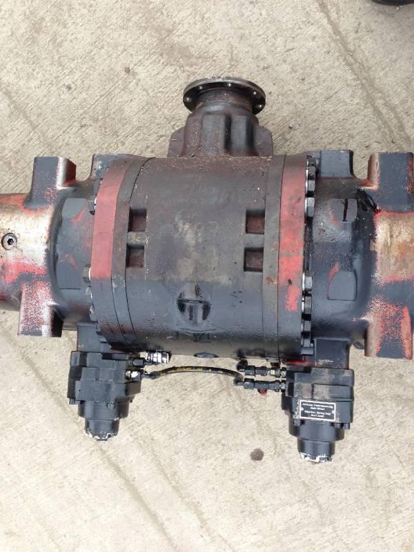 John Deere 1470D rear axle / differential LOK 122