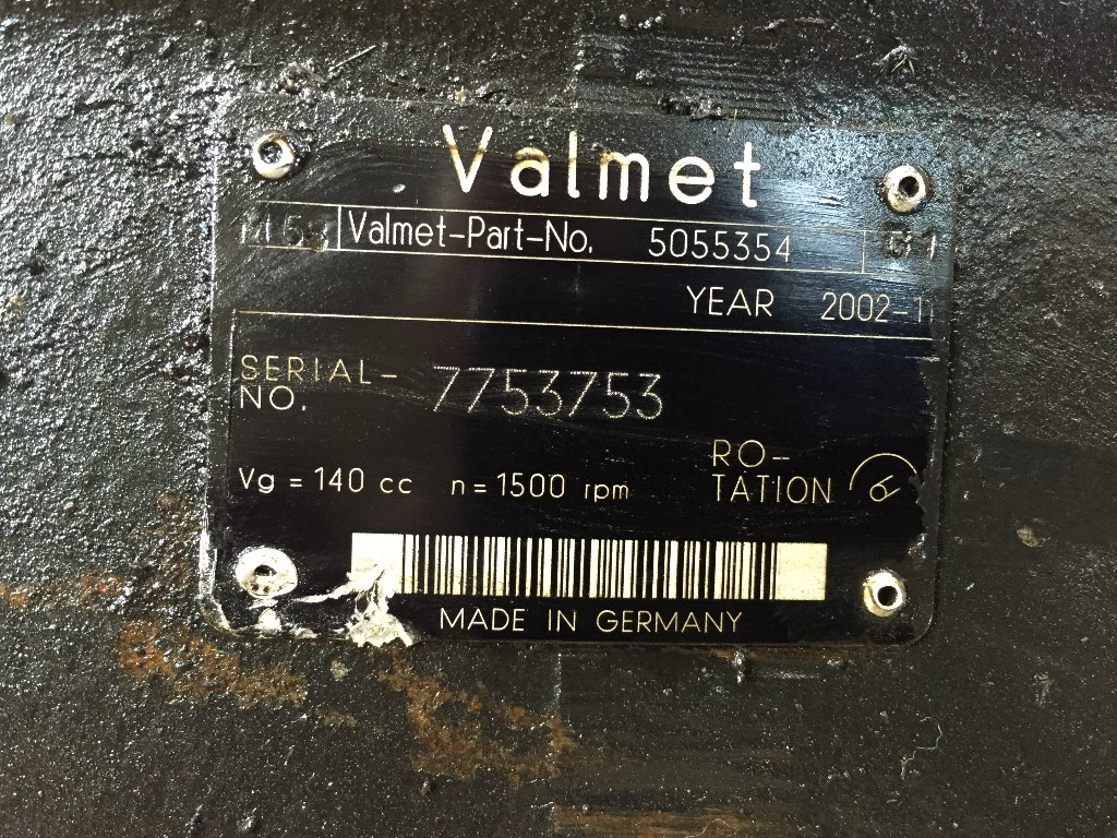Valmet 890.3 Differential