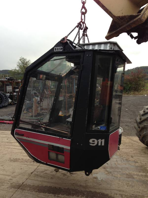Valmet 911 cabin / internals