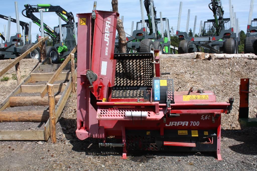 Japa 700 Firewood Processor