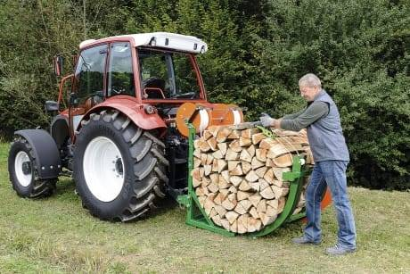 Posch Firewood Billet Bundler wrapper