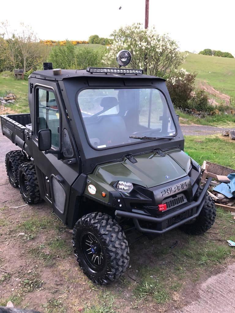 Polaris 6X6 ATV