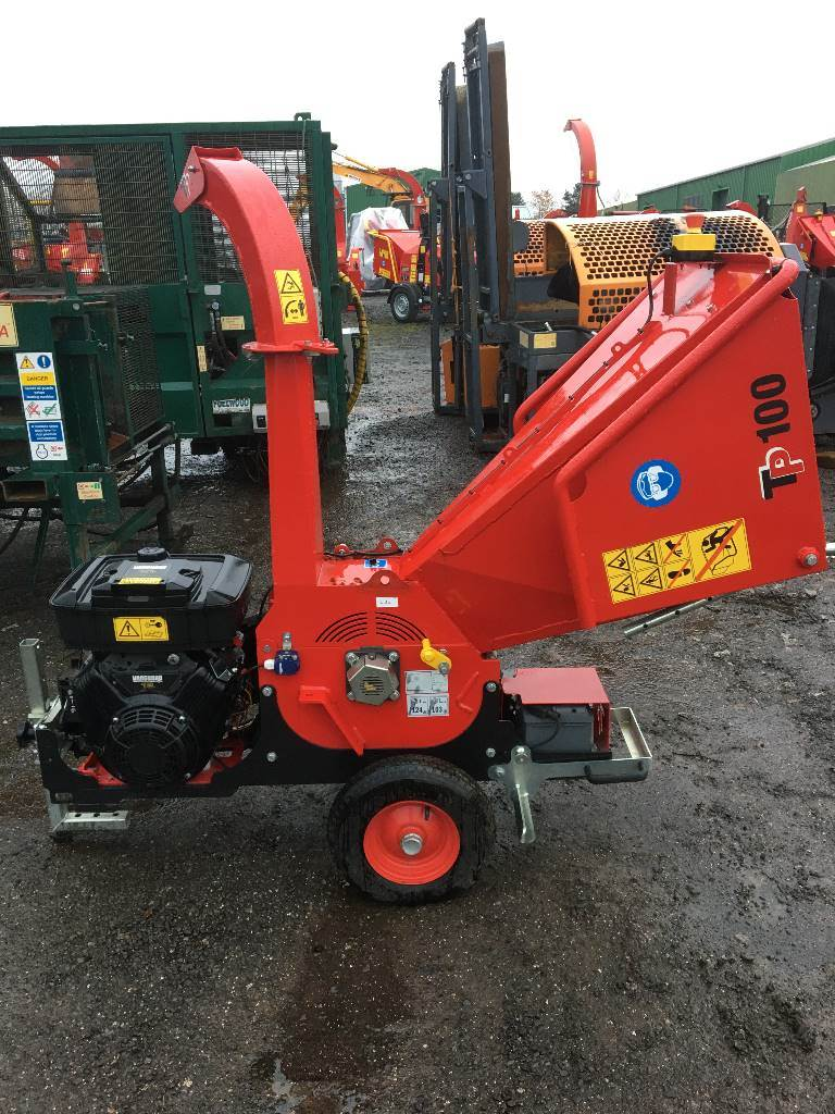 TP 100 Mobile Wood Chipper
