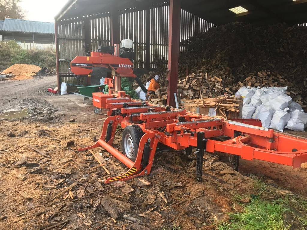 [Other] Wood-Mizer LT 20 Mobile Petrol Saw mill