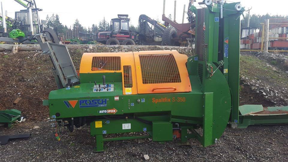 Posch S-350 Firewood Processor