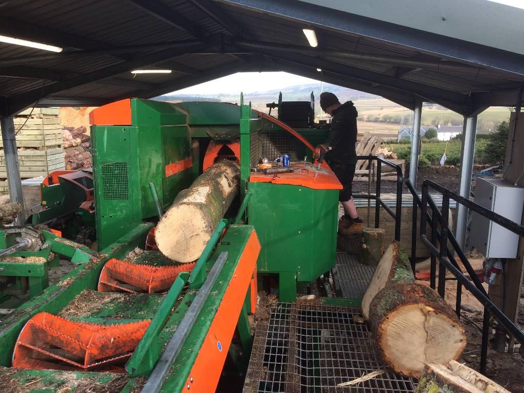 Posch K-540 Firewood Factory