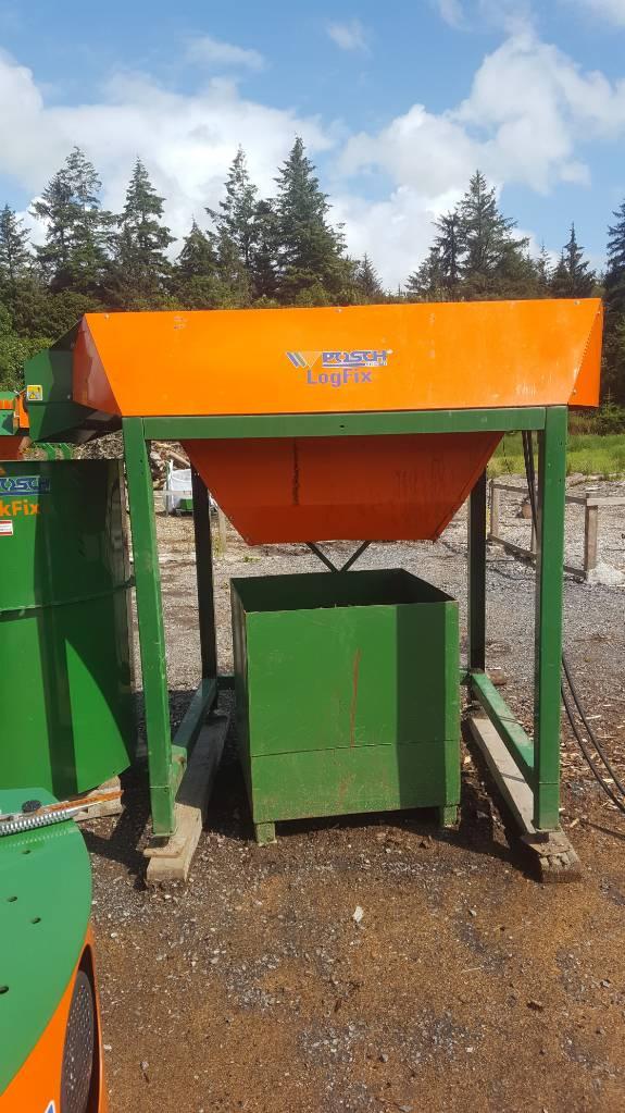 Posch LogFix L Hydraulic Firewood Log Cleaner