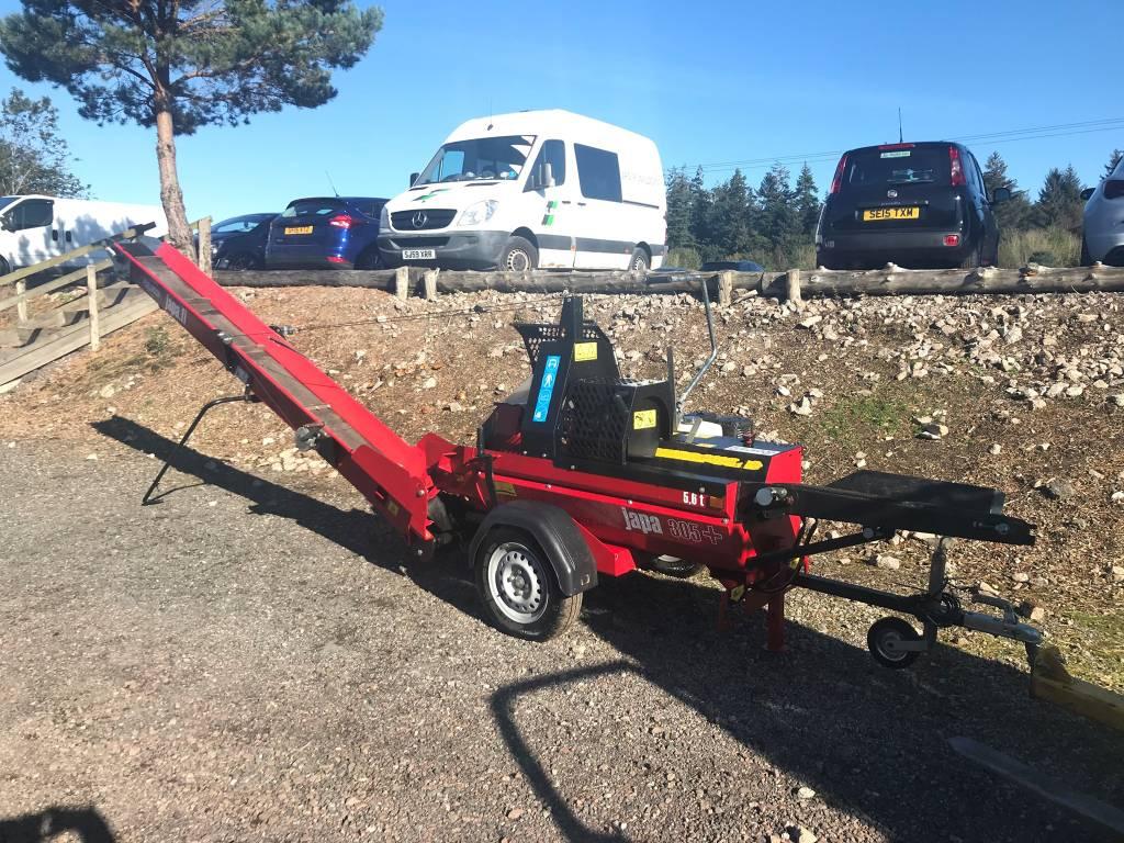 Japa 305 BE PLUS – Trailed Firewood Processor