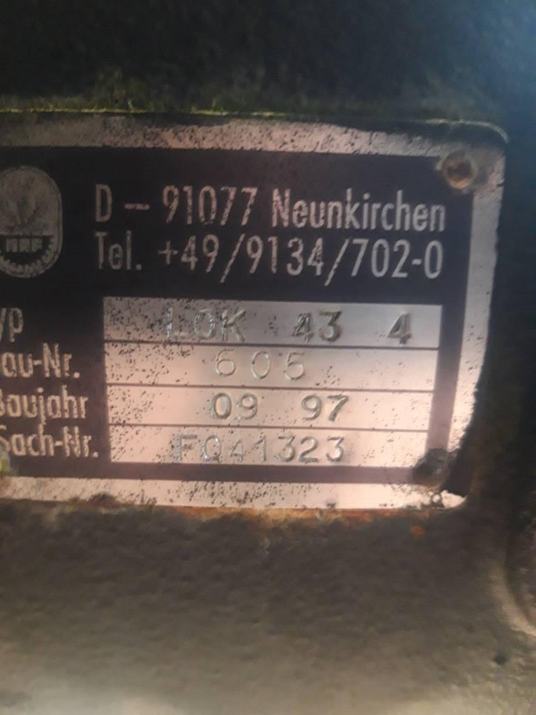 Timberjack 1270B BOGIE DIFF LOK 43 4